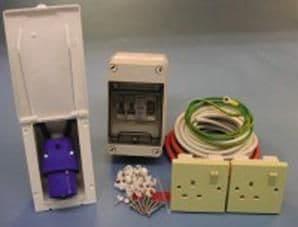 Mains Installation Kit For Flush Fitting Inlet