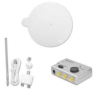 Maxview Gazelle Pro 12/24V d.c Omnidirectional UHF TV/FM Aerial - White