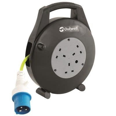 OUTWELL APUS MAINS ROLLER KIT 10M for Camping, Caravan and the Garden - Grasshopper Leisure