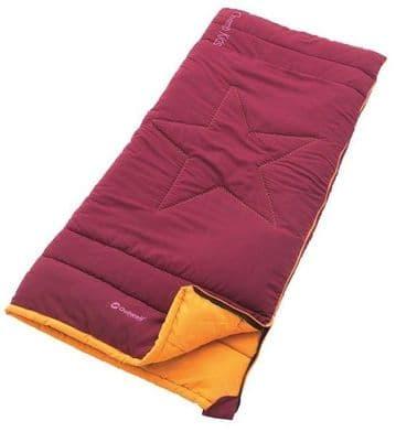 Outwell Champ Kids Beet Red Sleeping Bag