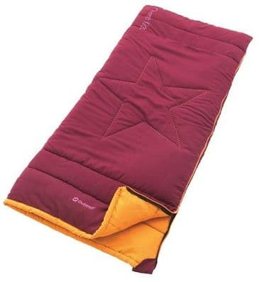 Outwell Champ Kids Beet Red Sleeping Bag