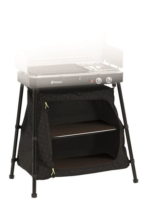 Outwell Chef Cooker Base Stand, Camping Cupboard - Grasshopper Leisure