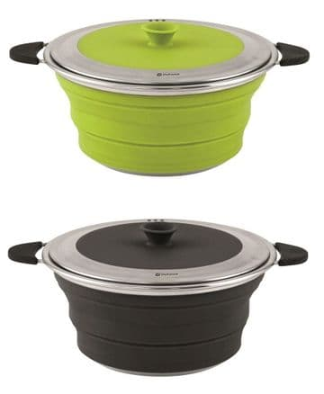 Outwell Collaps Pot with Lid M 2.5L