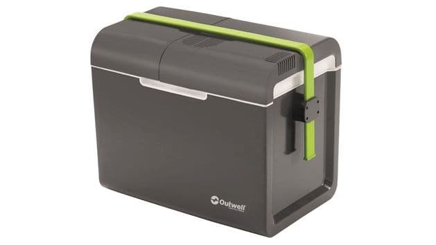 Outwell ECOcool Grey 35L Coolbox - 12V/230V - Grasshopper Leisure, Camping & Fishing Coolboxes - Grasshopper Leisure