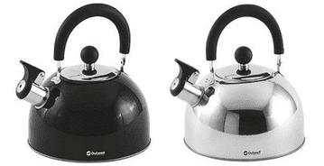 Outwell TEA BREAK KETTLE 1.8LTR - Stainless-steel& Black