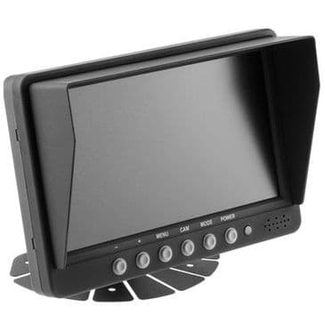 """PARKSAFE 7"""" QUAD MONITOR (PS025)"""