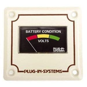 Plug-In Systems Battery Condition Meter Voltmeter