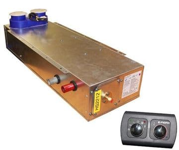 Propex Heatsource HS2212 underfloor mounted gas or electric blown air heater- V1, V2 & V3 kits