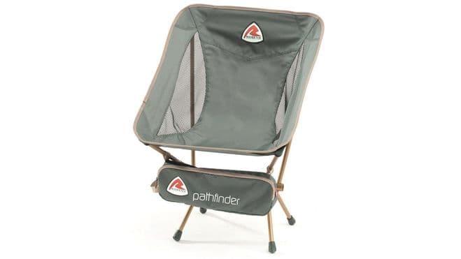 Robens Pathfinder Lite Granite Grey Chair 490044 - Grasshopper Leisure
