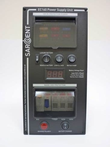 Sargent Black EC160 Power Supply Unit - Vertical
