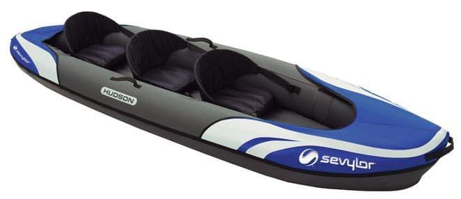 Sevylor Hudson 3 Person Inflatable Kayak, Water sports equipment - Grasshopper Leisure