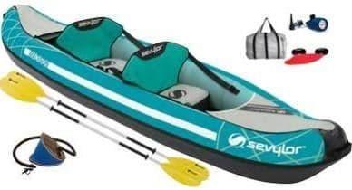 Sevylor Madison Inflatable Kayak Kit, Water Sport Equipment - Grasshopper Leisure
