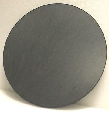 Slate Round Wooden Table Top
