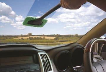 Streetwize Microfibre Windscreen Clean & Shine Easy Cleaner