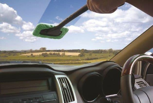 Streetwize Microfibre Windscreen Clean & Shine Easy Cleaner - Grasshopper Leisure
