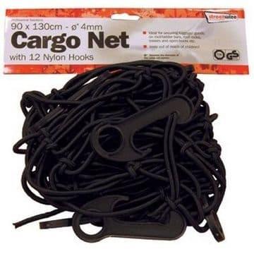 Streetwize SWCN1 Cargo Net 90 X 130 Cm With 12 Hooks