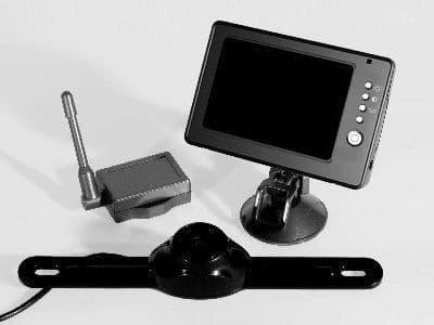 Streetwize Wireless Reversing Camera With 7