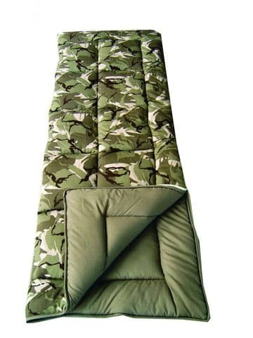 Sunncamp Camouflage 38oz Sleeping Bag