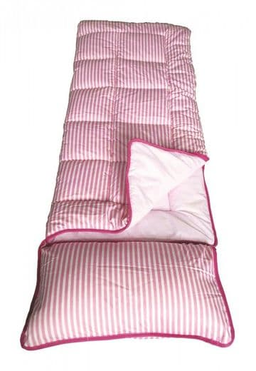 Sunncamp Junior Pink Stripe  Kids Sleeping Bag