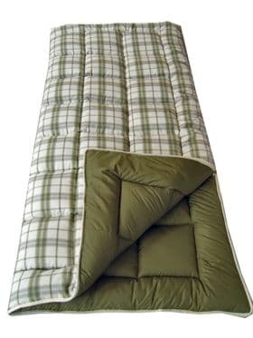 Sunncamp Sleeping Bag - Liberty Super Deluxe King Size Single Sleeping Bag - Grasshopper Leisure