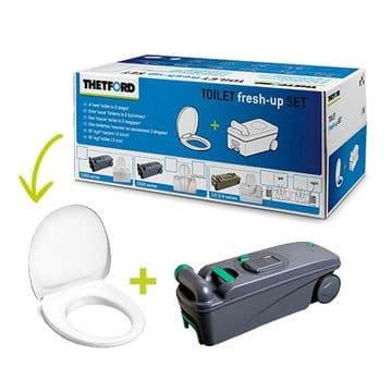 Thetford C400 Fresh Up Kit - Cassette / Toilet Seat
