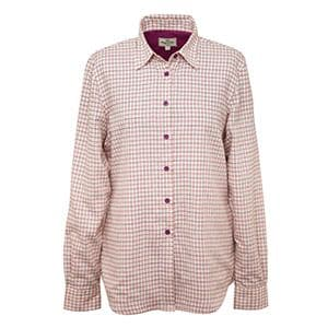 Hoggs of Fife Ladies Cotton Country Alba Jersey-Lined Shirt