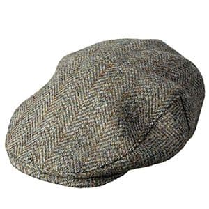 Hoggs of Fife Harris Tweed Cap