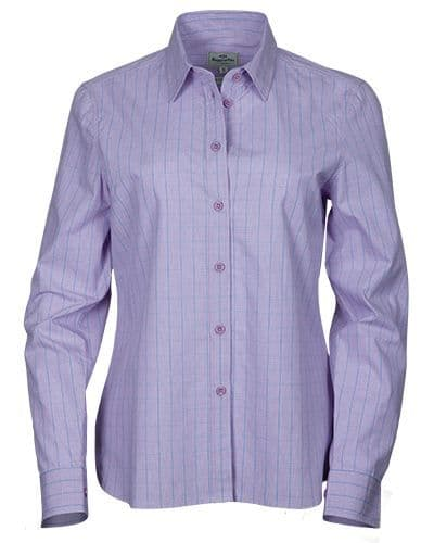 Hoggs of Fife Ladies Bryony Cotton Shirt