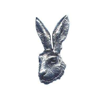 Pewter Pin - Hare's Head