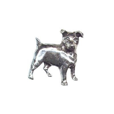 Pewter Pin - Jack Russell Terrier