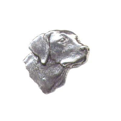 Pewter Pin - Labrador's Head