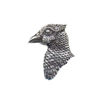 Pewter Pin - Pheasant's Head