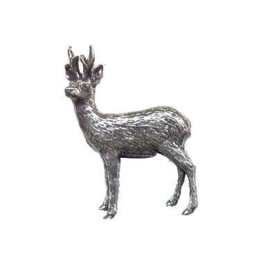 Pewter Pin - Roebuck