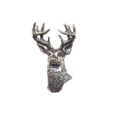 Pewter Pin - White Tailed Deer