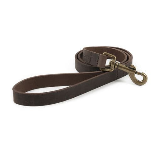 Ancol Latigo Leather Clip Lead