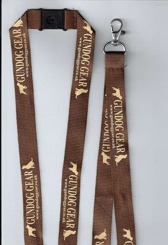Gundog Gear Lanyard: Brown & Beige