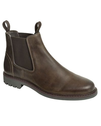 Hoggs of Fife Banff Country Dealer Boots: Waxy Brown