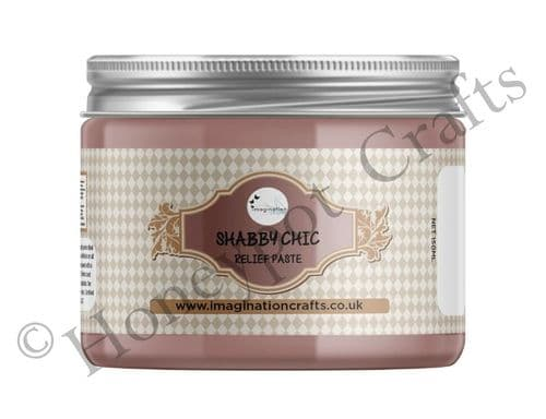 Ashy Rose Shabby Chic Relief Paste