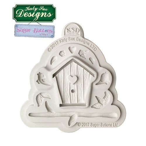 Birdhouse by Sugar Buttons Silicone Mould