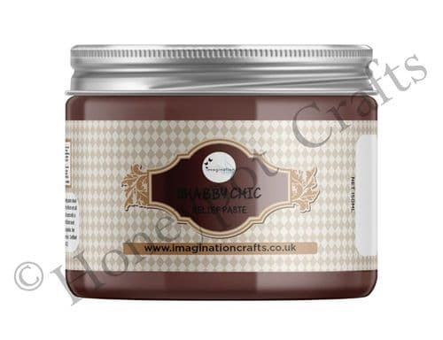Chocolate Shabby Chic Relief Paste