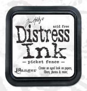 Distress Ink - Picket Fence