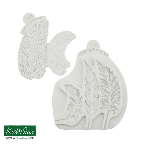 Feathers Silicone Mould & Veiner