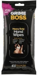 Grime Boss Heavy Duty Cleaning Wipes - 30 Pack