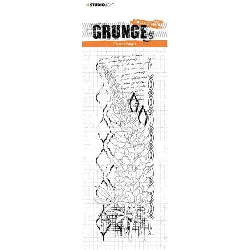 Grunge Lupin Clear Stamp
