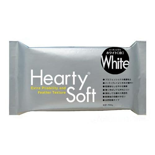 Hearty Air Dry Modeling Clay - 200g - White