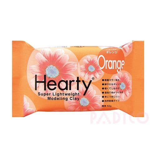Hearty Air Dry Modeling Clay 50g - Orange