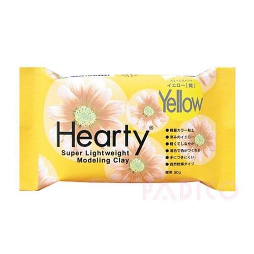 Hearty Air Dry Modeling Clay 50g - Yellow