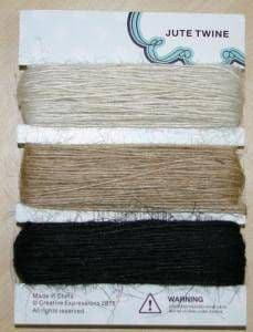 Jute Twine by Creative Expressions