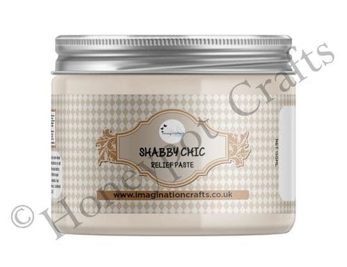 Linen Shabby Chic Relief Paste