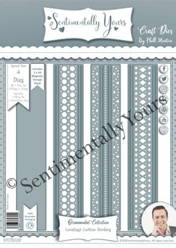 Loveliest Lattice Border Die Set